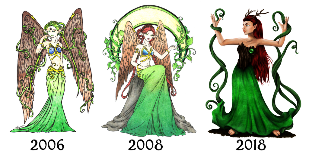 Earth Progression by ClearWillow