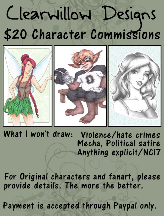 Character Commission Sheet by ClearWillow
