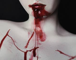 blood girl by Deliszja