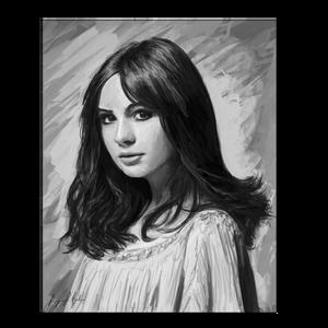 Digital Art: Karen Gillan Portrait