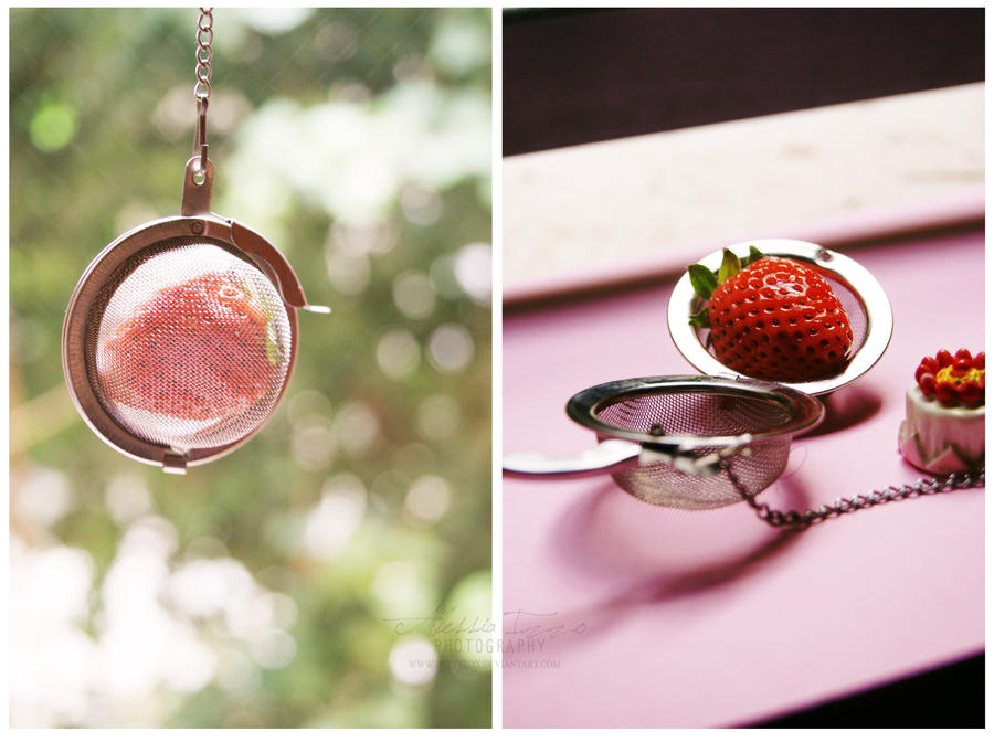 Strawberry Tea by Alessia-Izzo
