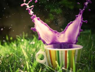 Purple explosion by Alessia-Izzo