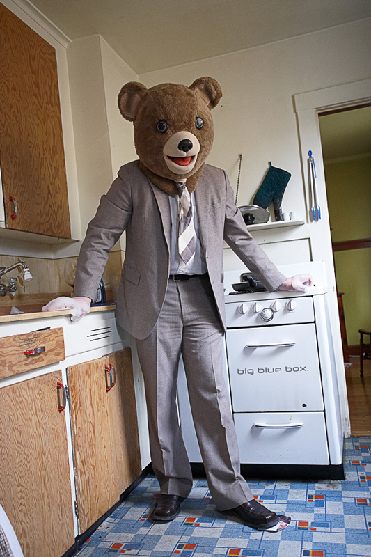 Bearly cooking. by DeanMcClelland