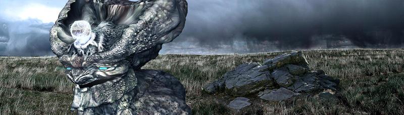 Rock Gollum. by DeanMcClelland