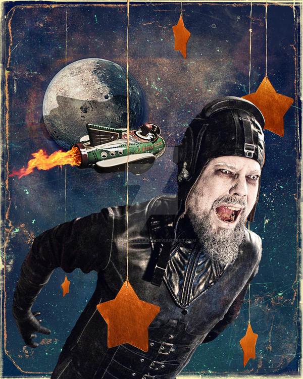 Rocketman by DeanMcClelland