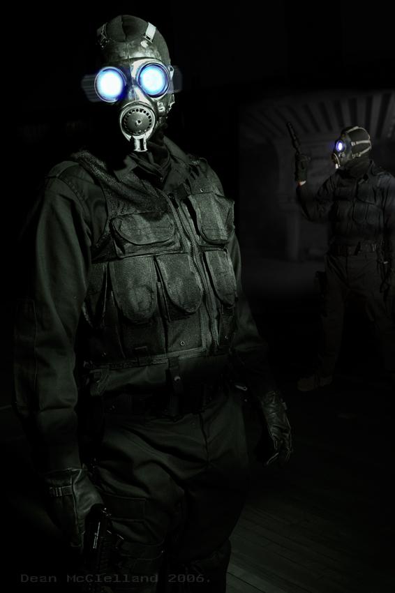 Watcher in the dark. by DeanMcClelland