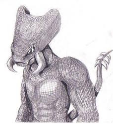 A demon by emilybee
