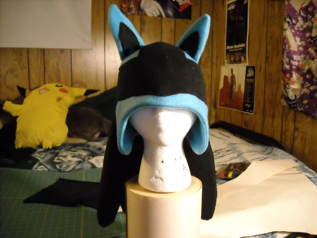 Lucario Hat 1 by Tyerva-Sama