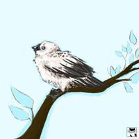 Blue Bird by Kris-Kringle