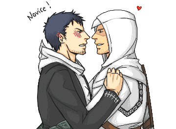AM altair and malik by XXX023