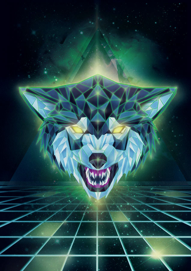 Cyber Wolf by albertoo