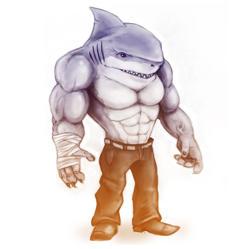 King shark by albertoo