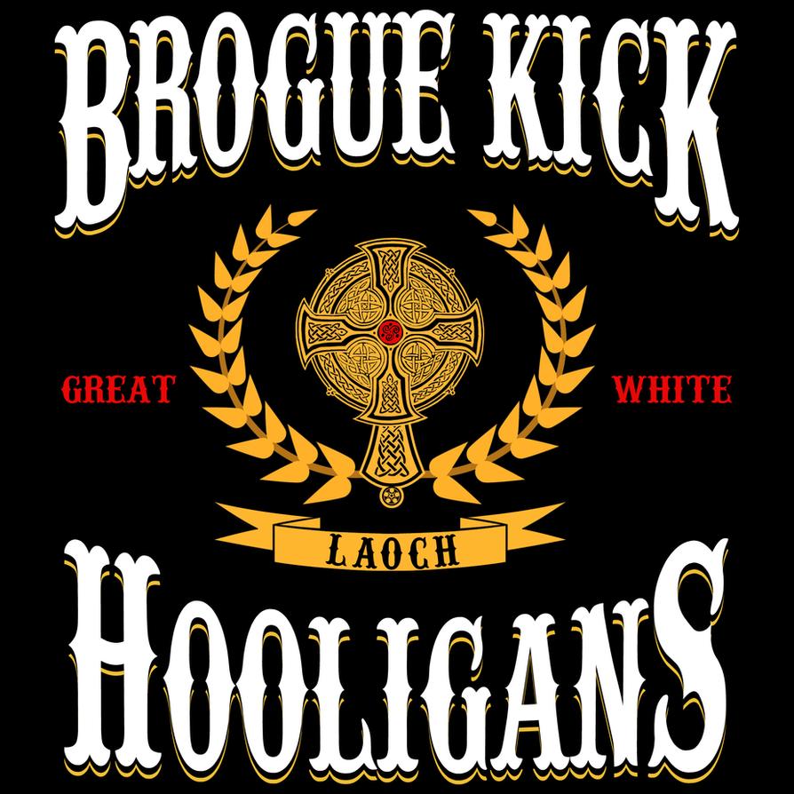Brogue kick logo