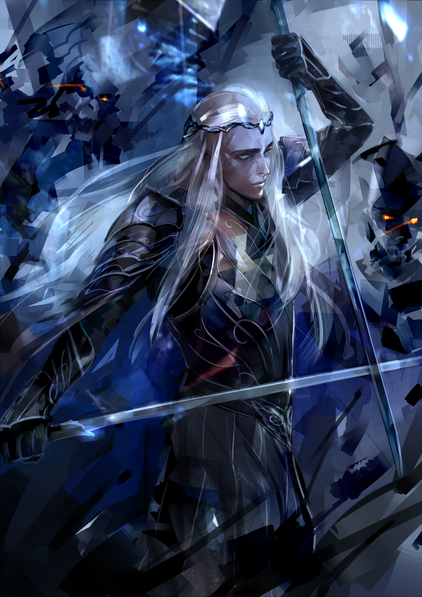 The Moment of JusticeStorm - in tribute to Thranduil BerserKing & The Primordial Tempest of War Thranduil02_1_by_saigatokihito-d8bf6qu