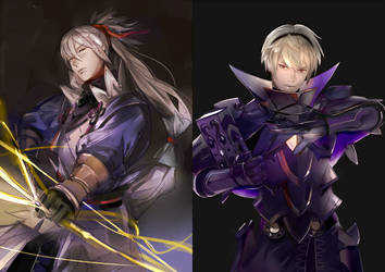 The Second princes / Fire Emblem Fates by SaigaTokihito