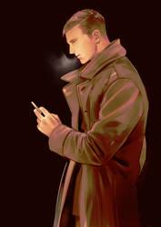 The Smoking Man by SaigaTokihito