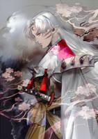 Sesshomaru by SaigaTokihito