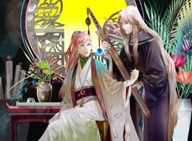The Room of King / Twelve Kingdoms by SaigaTokihito