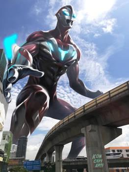 Ultraman photo paint