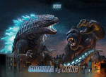 Godzilla vs Kong conceptart