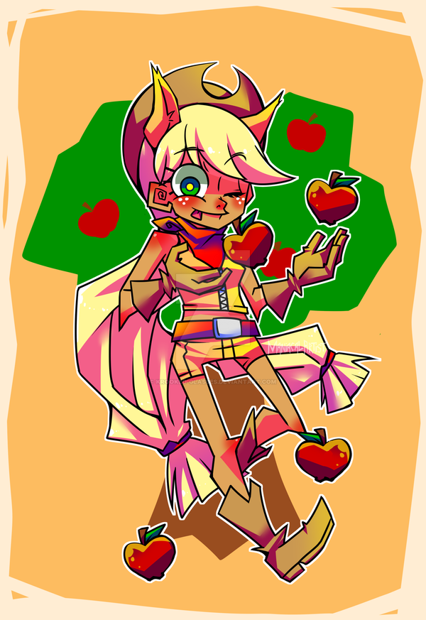 Lil Applejack Print (limited) by Krooked-Glasses