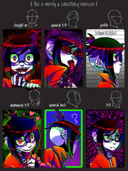 CONSISTENCY EXERCISE WITH ACE (Slight edit) by Krooked-Glasses