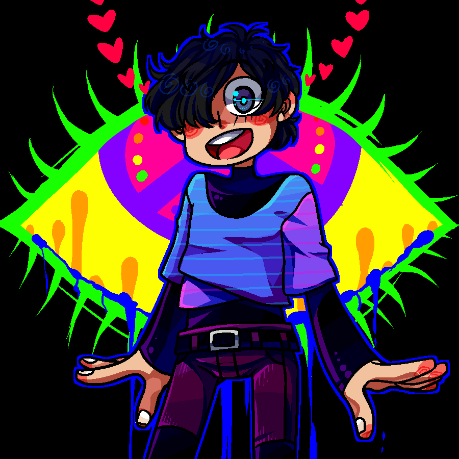 PIXEL DANNY by Krooked-Glasses