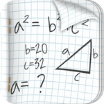 Algebra Notebook Icon More Detail - 1024 px