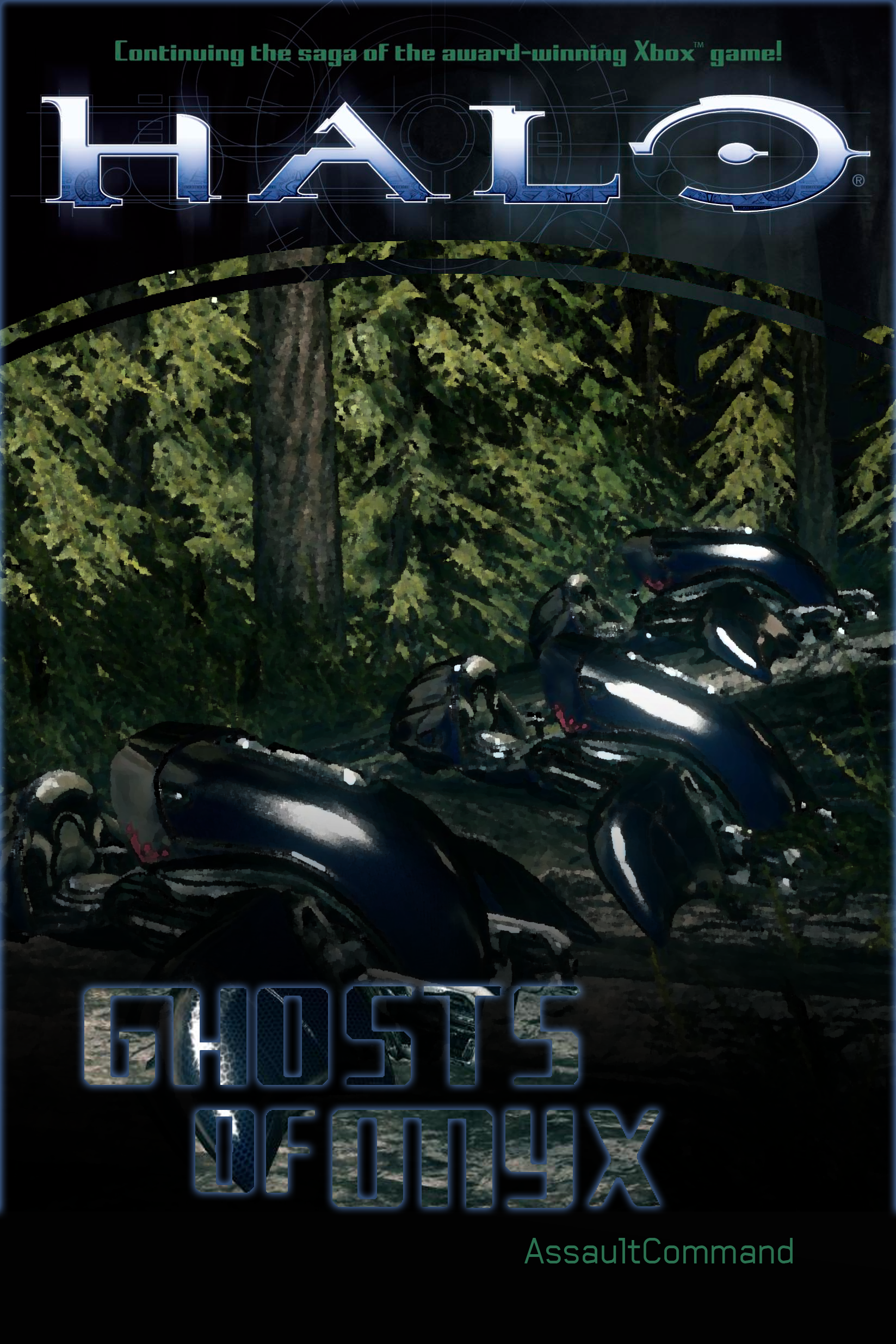 halo ghosts of onyx cover by floodgrunt on deviantart. Black Bedroom Furniture Sets. Home Design Ideas