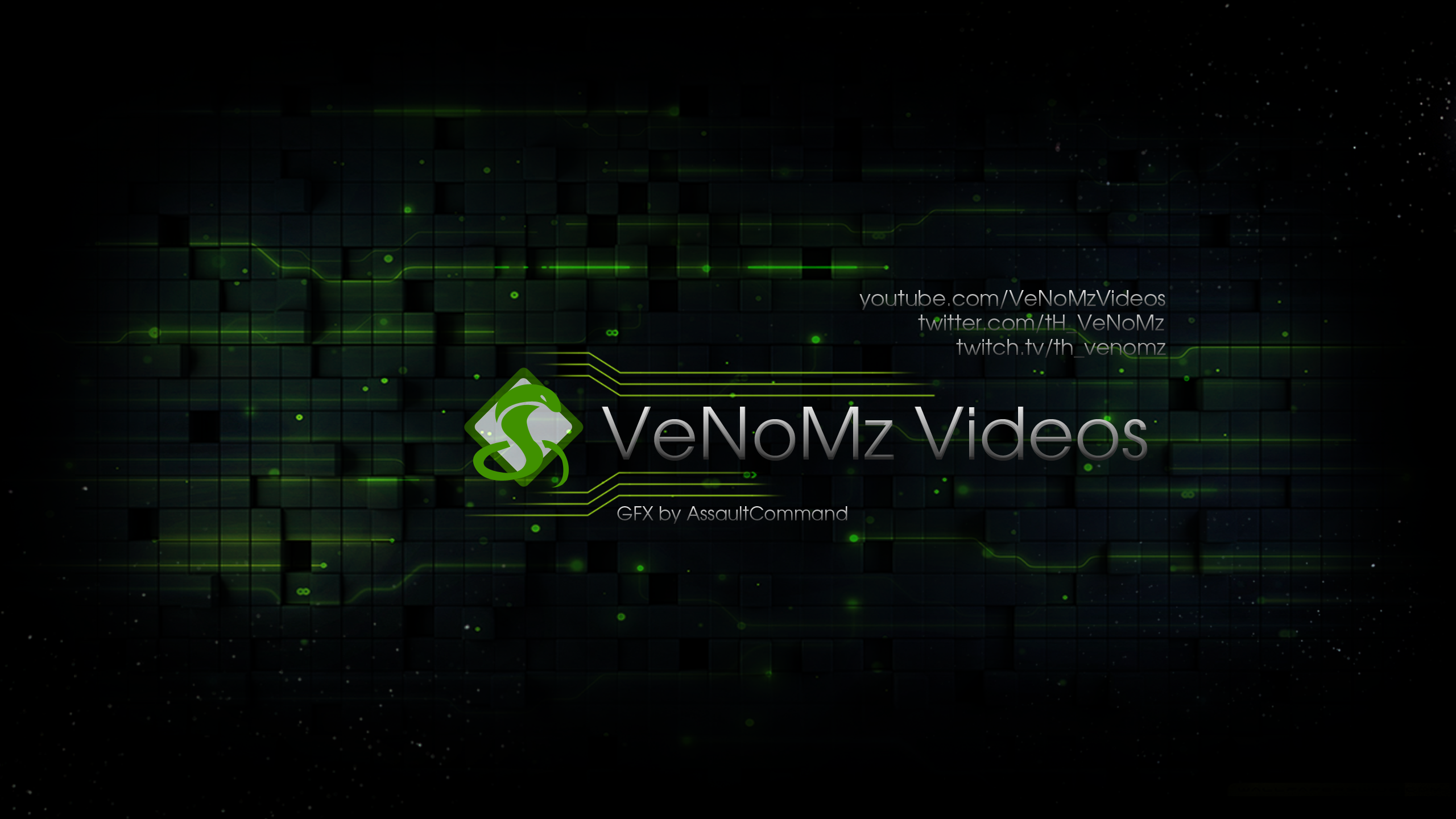 VeNoMz Videos - Youtube banner/Wallpaper by Floodgrunt on DeviantArt
