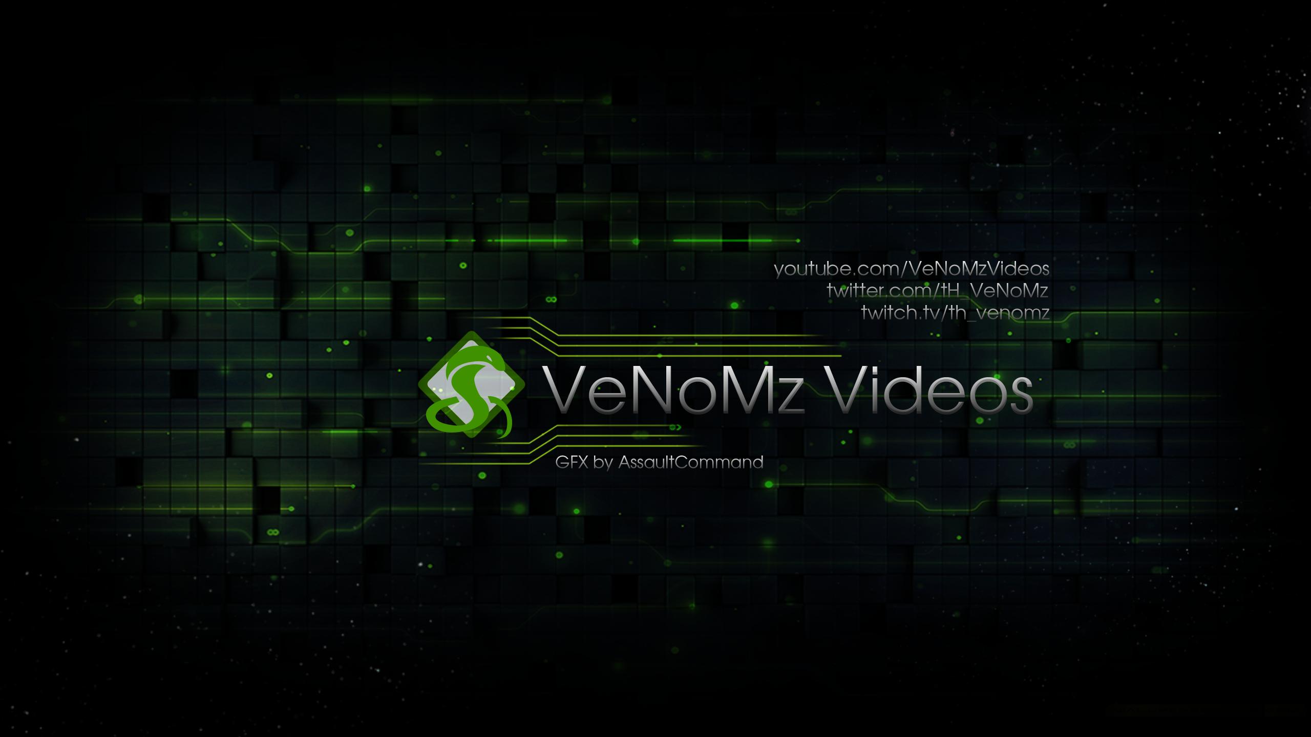 VeNoMz Videos - Youtube banner/Wallpaper by Floodgrunt on DeviantArt