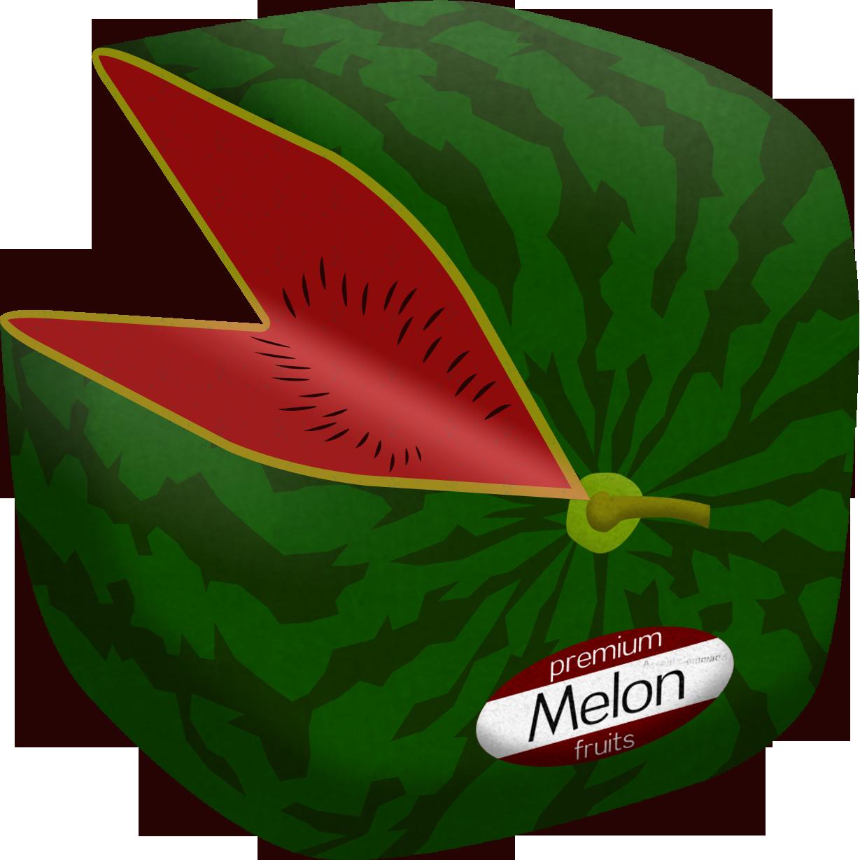 Cube Melon by Floodgrunt