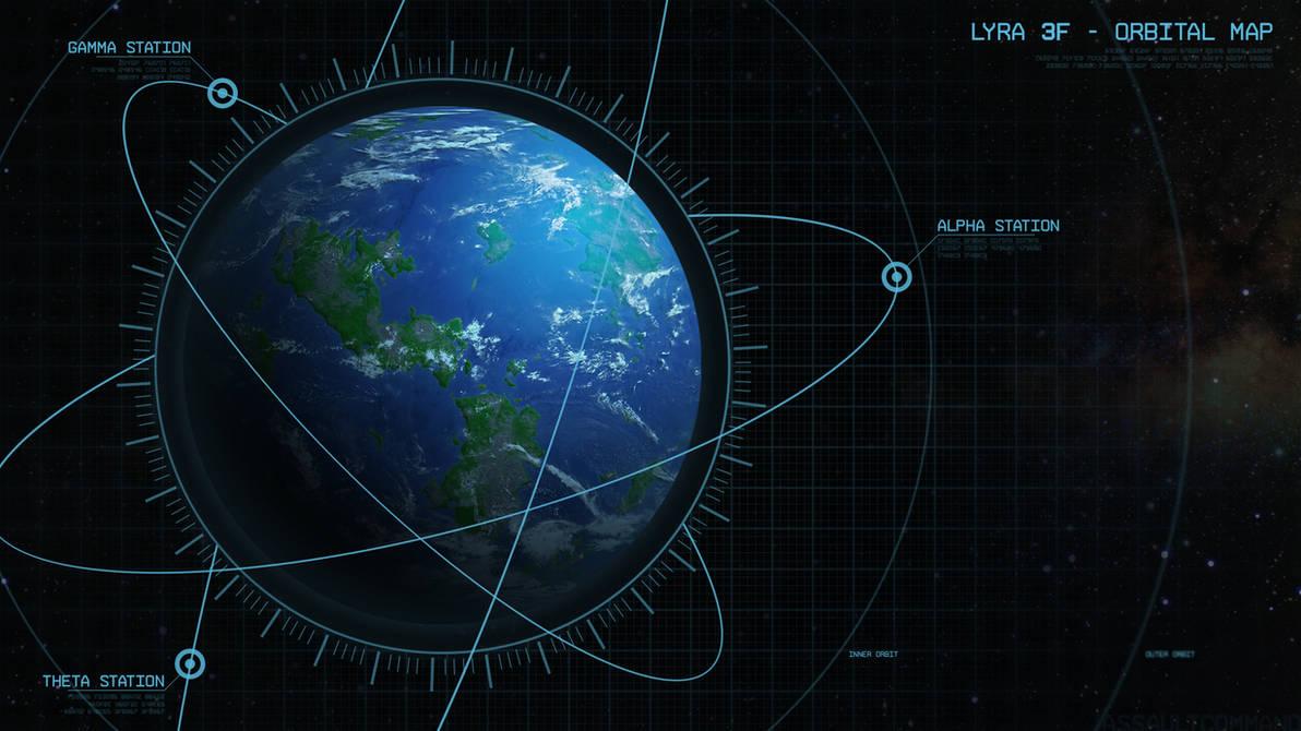 Lyra 3F - Orbital Map [wallpaper]