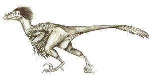 Deinonychus: The Terrible Claw by LlamaTHEDragon