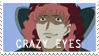Craaazy Eyes by LlamaTHEDragon