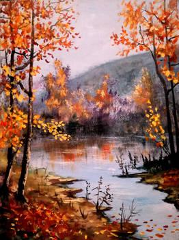 Cold golden Autumn
