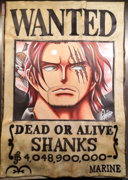 Red Hair Pirates On Onepiece Oneworld Deviantart
