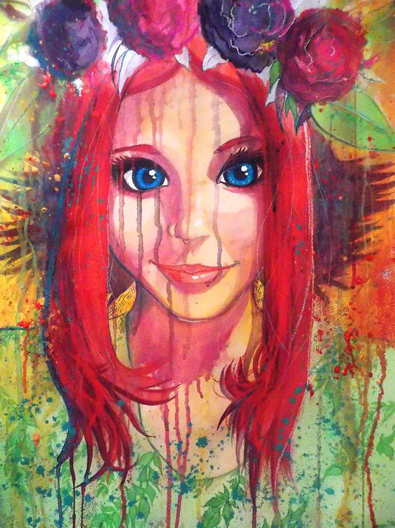 Melty Kozuki Kallen by PhoenixRoy