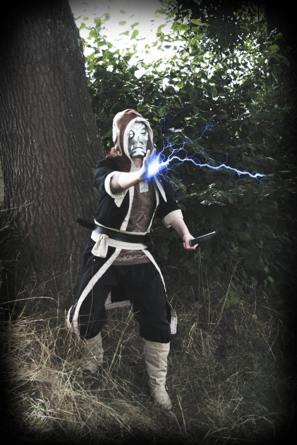 Skyrim Cosplay - Lightning by Ruun