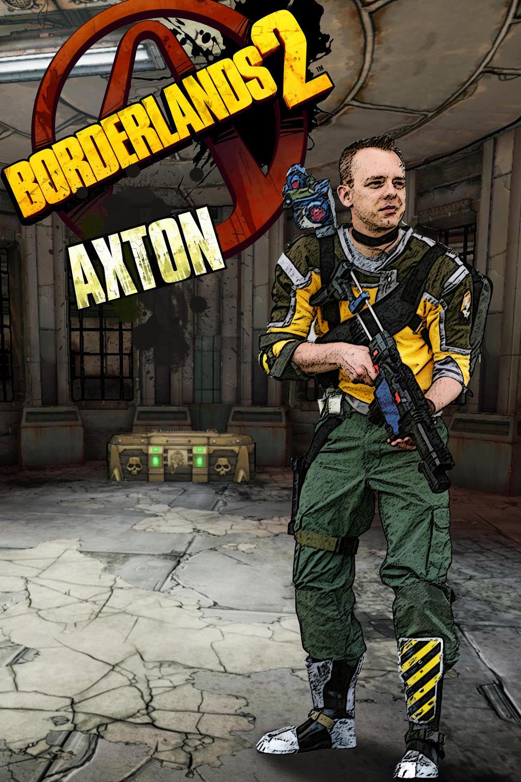 axton borderlands 2 cosplay sanctuary by ruun on deviantart