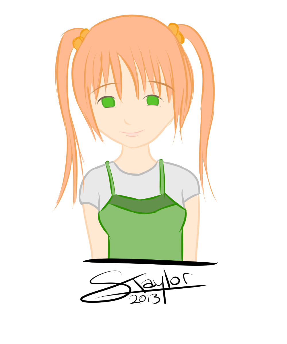 Emi Ibarazaki (Katawa Shoujo) by ScottyTaylor on deviantART