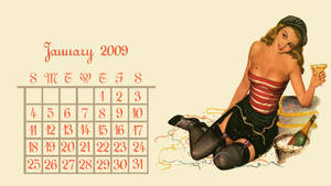 Calendar Girl January