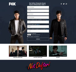 Note Book TV Series by FOX TV by mustafatoker