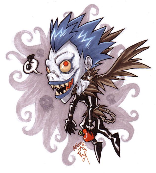 Death Note Shinigami Ryuk By Atg On Deviantart
