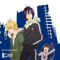 Color. The Yato Club by maioceaneyes