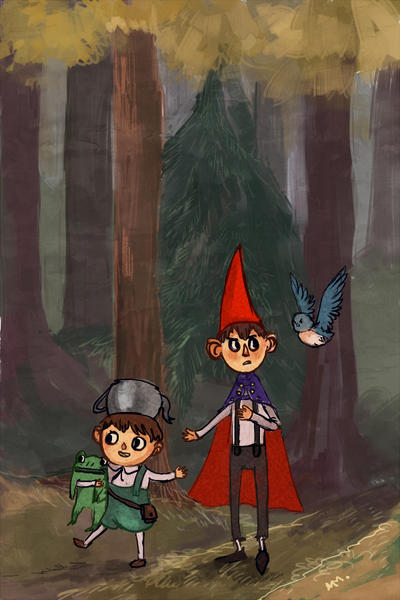Into the woods by GrannyFoxy