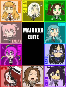 Majokko Elite chibis