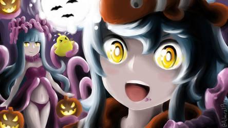 Azur Lane Siren Halloween