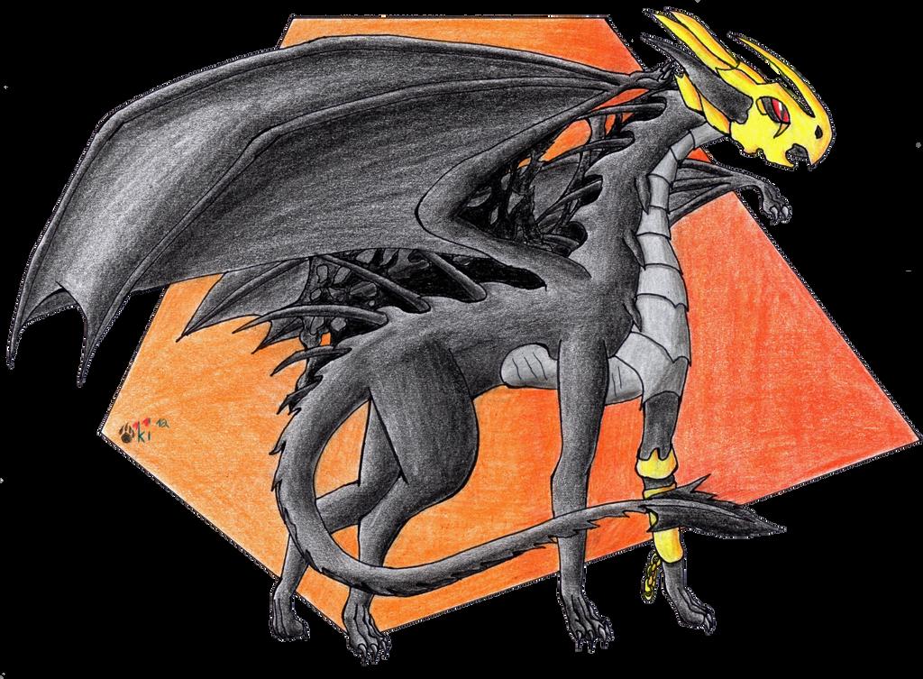 Drachengoettin Anahid by Okiro13