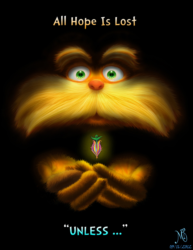 The Lorax ebook cover Version 4 - The Last Seed